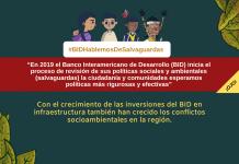 Banco interamericano de desarrollo salva guardas proteccion medio ambiente comunidades locales indigenas