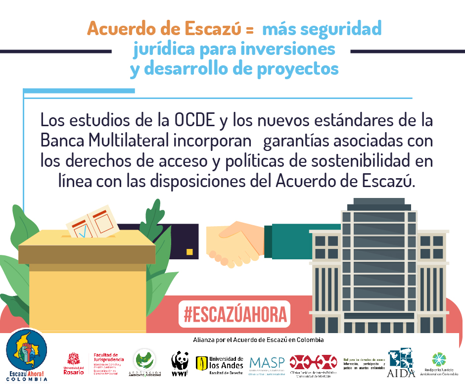 seguridad juridica escazu colombia