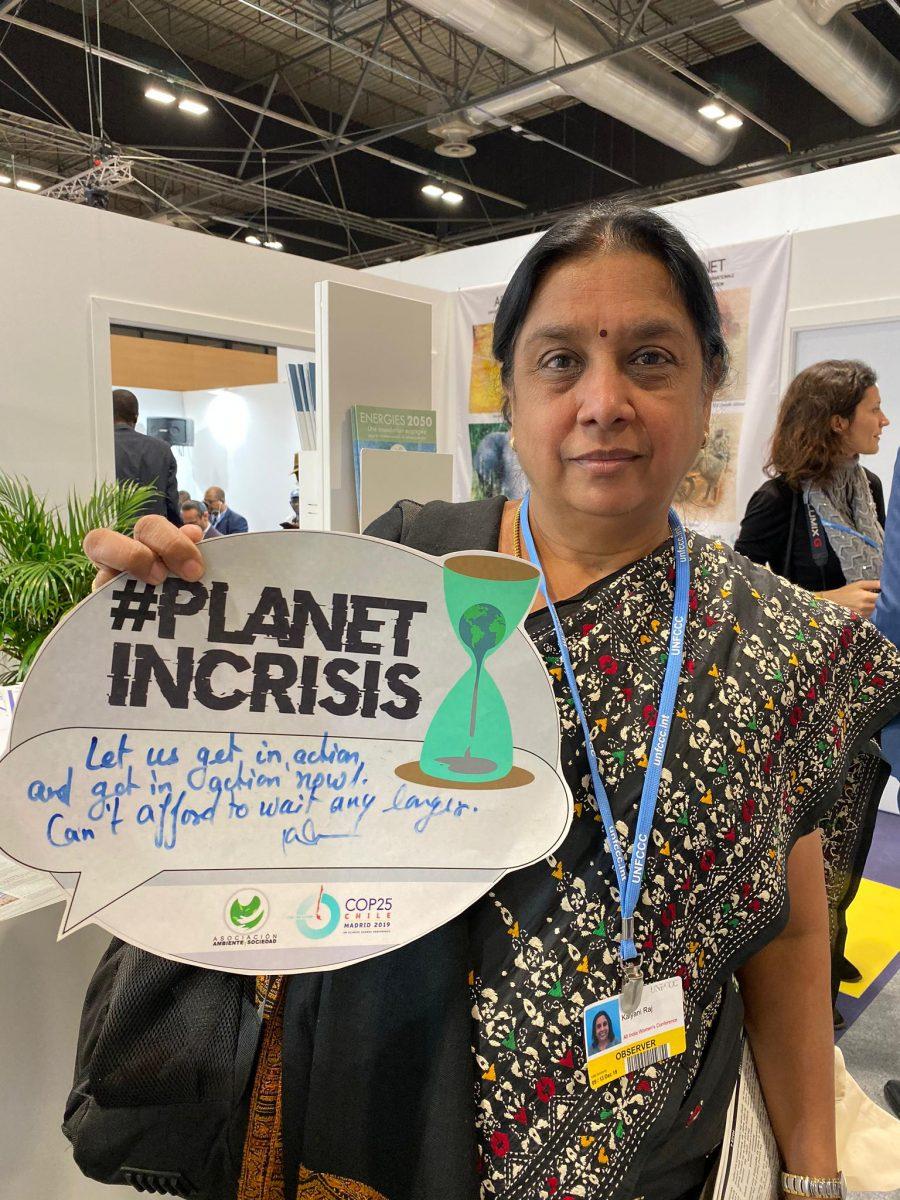 accion ya planeta en crisis comunidades cop25